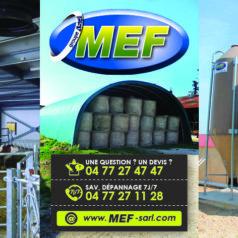 MEF : près de quarante ans au service des éleveurs !